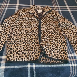 Other - Leaped print Jacket